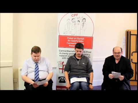 Carmarthenshire People First (Welsh version)