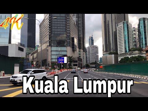 4K Walking From Jalan Bukit Bintang To (KLCC) Kuala Lumpur City Center  Walking Around Malaysia 🇲🇾