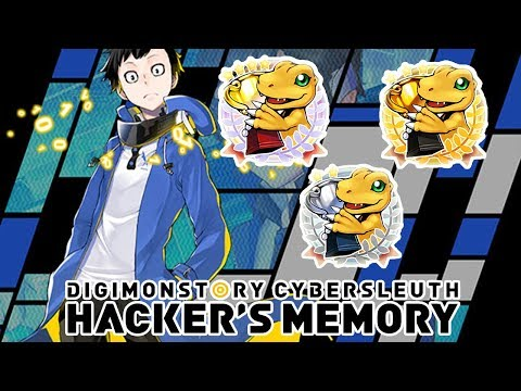 Digimon Story Cyber Sleuth: Hacker's Memory -  PS4 Trophy List!