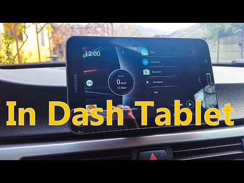 This Is How The Dash Tablet Looks Like Now In My E90