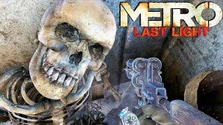 Metro Last Light Gameplay - Death Train Survival & Dark Ones