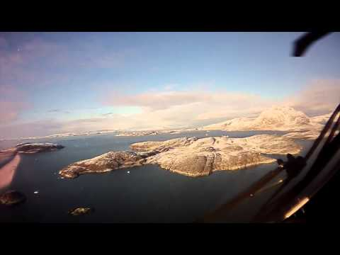 Flying into Asiaat Greenland from Offshore in S92