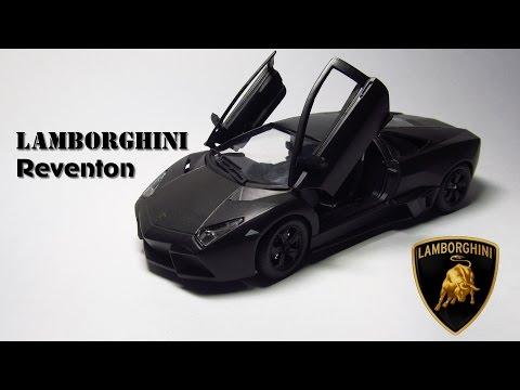 Обзор Lamborghini Reventon Bburago 1:24