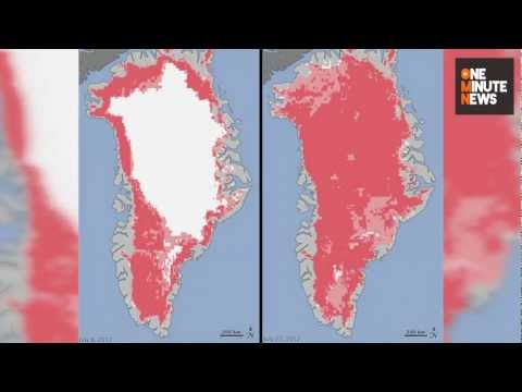 Greenland Ice Sheet Melts: Sign of Climate Change?