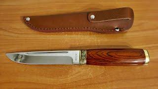 обзор Туристического ножа Grand Way 2215 K-P из Rozetka