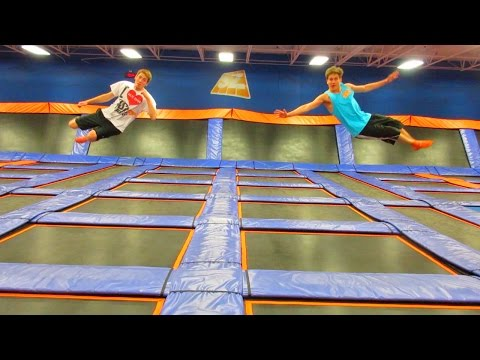 FUN INDOOR TRAMPOLINE PARK!!