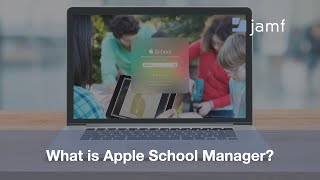 What is Apple School Manager?