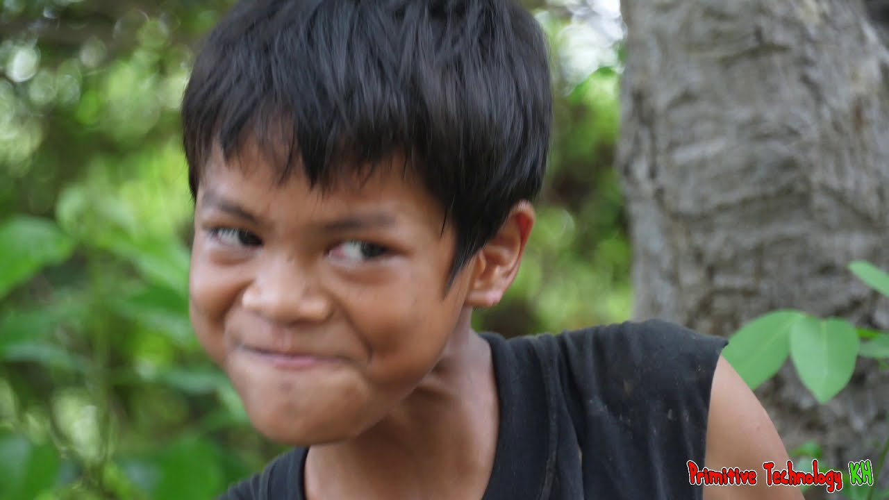Primitive Technology - Eating Delicious In Jungle - Cooking Chicken Wing #141