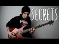 Secrets (solo bass cover / arrangement) [FREE TABS]