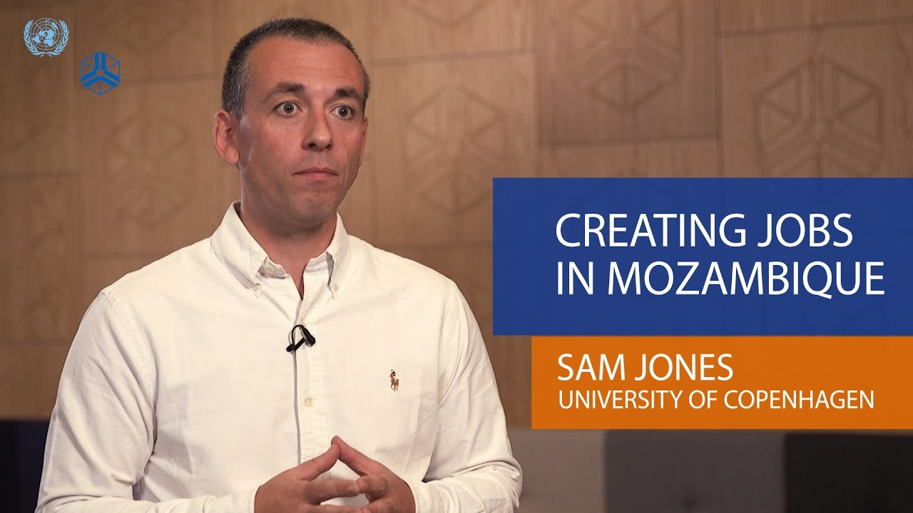 Sam Jones Creating jobs in Mozambique