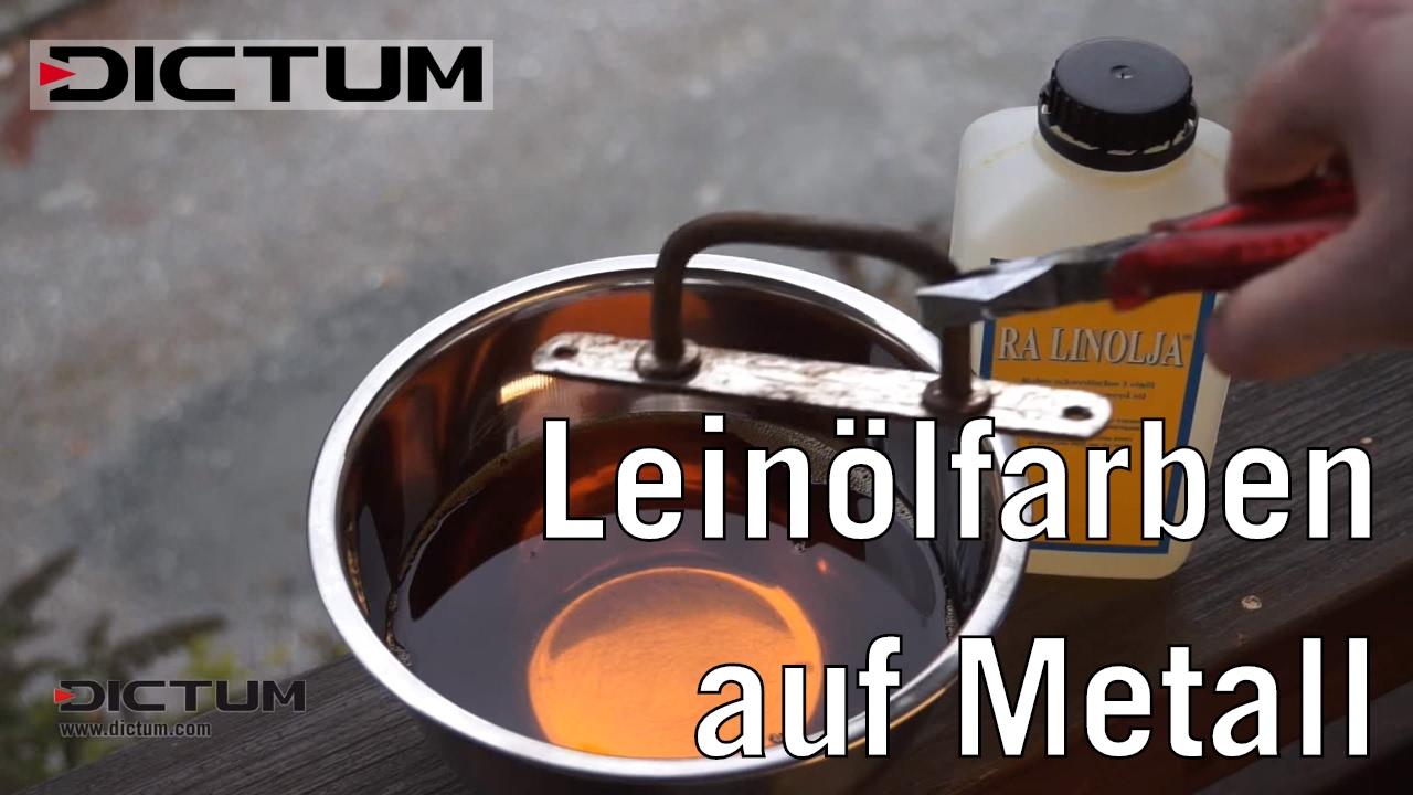 Top Leinölfarben auf Metall – Rezepturen, Anwendung und Tipps - YouTube #WJ_56