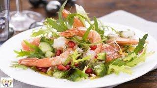 Prawn Pomegranate And Grapefruit Salad
