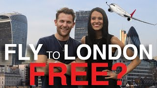 How to Fly US to London for Free (almost) ft. The Points Guy UK | Love and London
