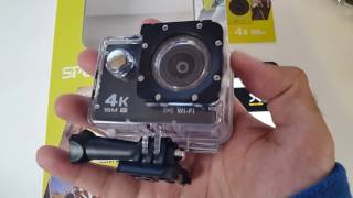 4K Sports Camera - 16MP - Waterproof (30M) - by NexGadget