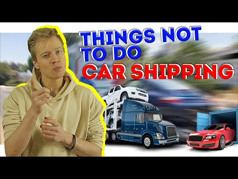 MOVING TIPS 2021 - THINGS NOT TO DO CAR SHIPPING - MOVING HACKS