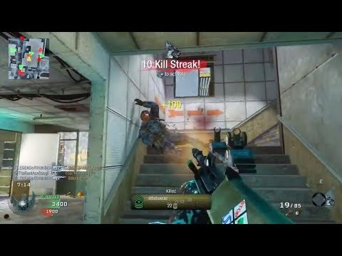 Black Ops AUG Gameplay On Grid! Call Of Duty: Black Ops Attack Dog Multiplayer! (COD BO1)