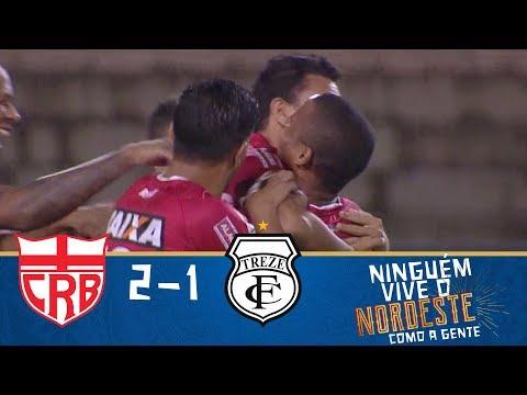 Melhores momentos - CRB 2 x 1 Treze - Copa do Nordeste (28/03/2018)