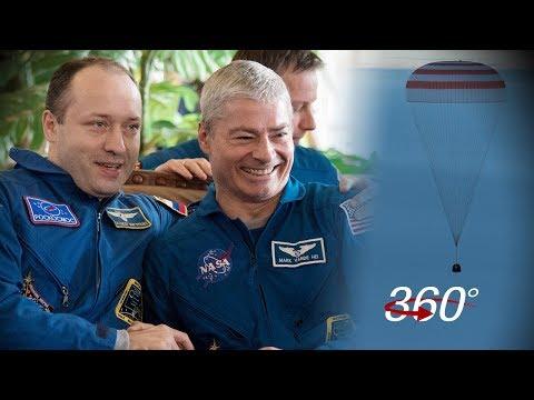 Welcome Home: Soyuz Landing In 360/VR