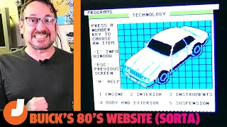 homepage tile video photo for The Torchinsky Files: Buick's Website-On-A-Disk Before There Were Websites | Jalopnik