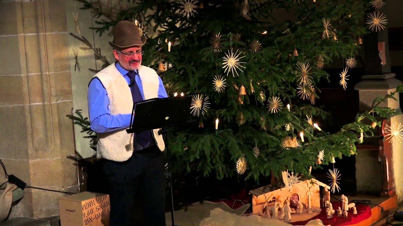 Ansprache Pfarrer Albrecht Lächele Kinderkirche Weihnachten - YouTube