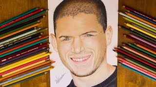 Drawing Michael Scofield - Prison Break