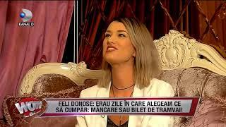 WOWBIZ (26.09.2017) - Feli Donose, despre inceputurile in muzica!