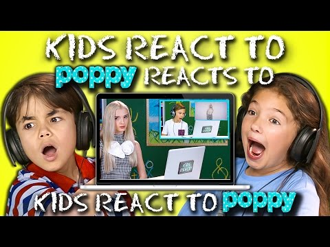 Thumbnail: KIDS REACT TO POPPY REACTS TO KIDS REACT TO POPPY