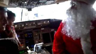 New, Kids visited Santa on Amerijet Int