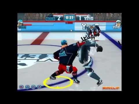 Buz Hokeyi Oyunu - Sonunda Yendik