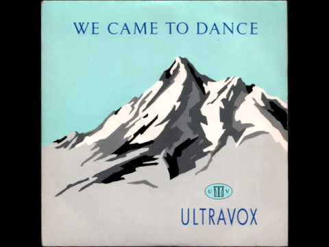 """Ultravox - We Came To Dance - Picture Sleeve vinyl 7"""" single record"""