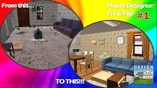 House Designer: Fix & Flip #1   Whole Bungalow House Makeover!  Interior Design