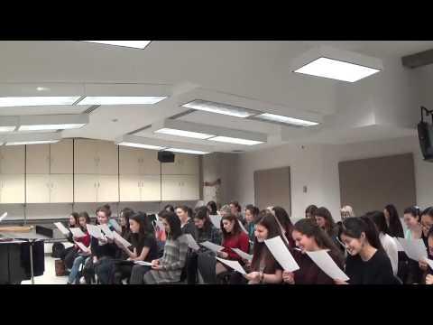 The Music Theory Song (chestnut roasting) - Choir