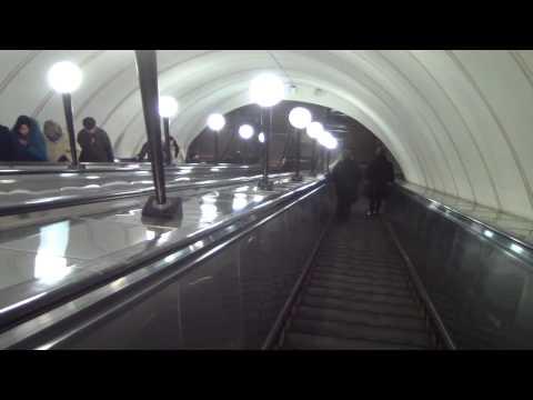 Veronika under ground (Moscow metropoliten)