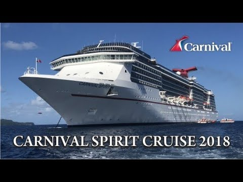 Carnival Spirit Cruise 2018