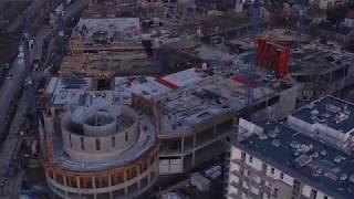 Budowa Centrum Handlowo Rozrywkowego Nowa Stacja w Pruszkowie - Grudzień 2017