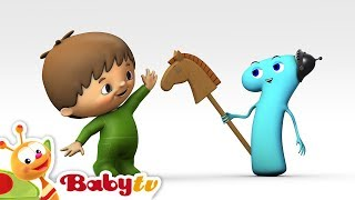 Charlie y los Números - Charlie conoce Número  1- BabyTV (Español) thumbnail