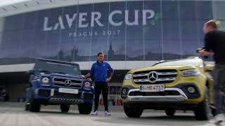 Federer First To Arrive at Laver Cup