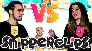 GUILLAUME VS KIM | SNIPPERCLIPS MODE DOJO NINTENDO SWITCH COOP FR