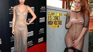 Самые откровенные наряды звезд...голые звёзды...The most revealinоg outfits stars..naked stars.#2