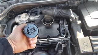Контрактный двигатель Skoda (Шкода) 1.9 BXE | Где купить? | Тест мотора