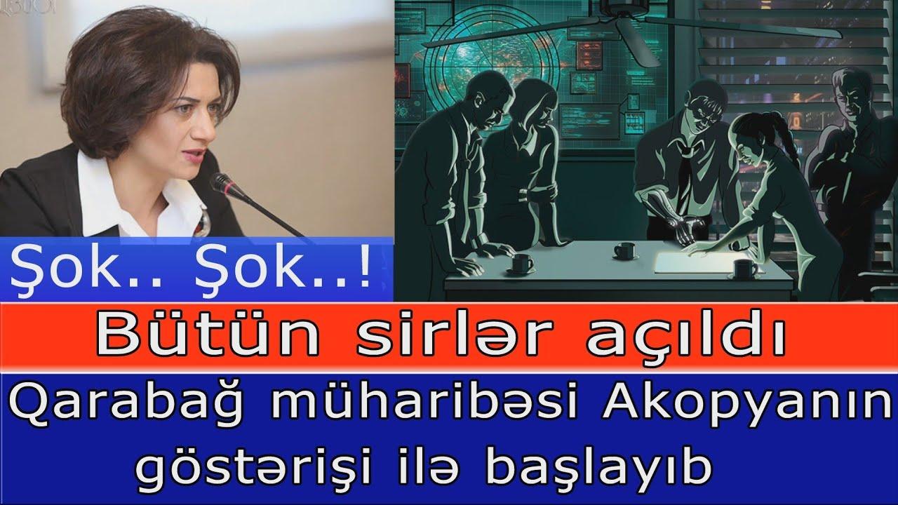 Şok.. Şok...! Qarabag muharibesini Anna Akopyan basladib - VideoFakt