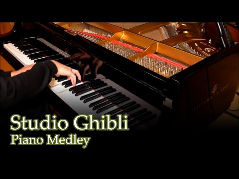 Studio Ghibli Medley [piano]