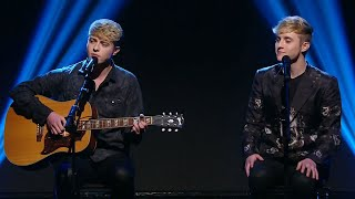 "Jedward perform ""Everybody Hurts"" 