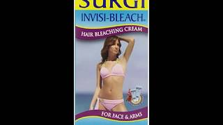 Surgi Invisi bleach Hair Bleaching Cream For Face & Arms, 1 5 Ounce Bottles Cream Activator 1 Oz Pac