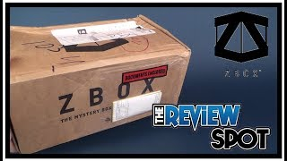 Subscription Spot | Zbox August 2017 Subscription Box UNBOXING!