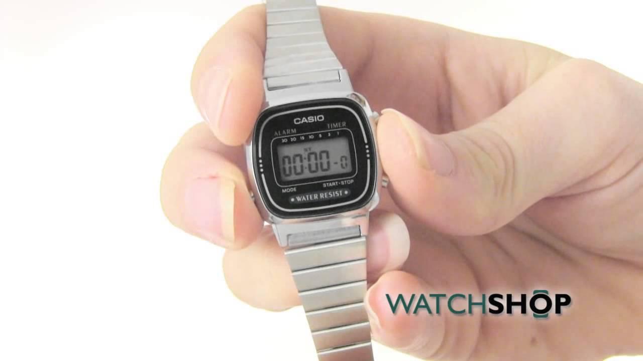 d7f92c60cdc8 Casio Ladies  Classic Alarm Chronograph Watch(LA670WEA-1EF) - YouTube