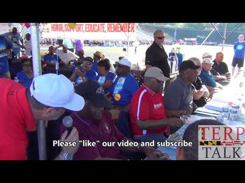 NFL Legends - Lenny Moore - Hall of Fame Running Back -  interview