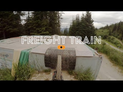 Whistler Bike Park  Freight Train via Una Moss & Drop in Clinic  Raw 4k GoPro POV