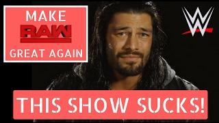 10 Ways To Make Monday Night RAW Great Again