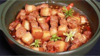Cách nấu Thịt Kho Tiêu và cách thắng nước màu cực dễ nhanh màu đẹp ngon
